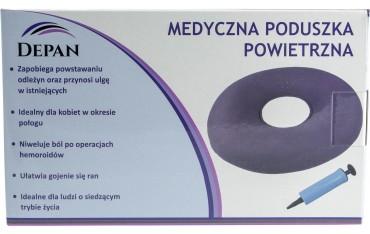 Medyczna poduszka powietrzna w zestawie z pompką DEPAN