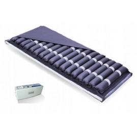 Materac przeciwodleżynowy rurowy PROTECTOR III do 150 kg z funkcją wentylacji i cichą pompą